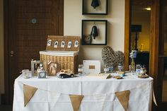 Relaxed Rustic Yorkshire Wedding Card Basket http://www.johnhopephotography.com/