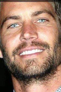 Paul Love his scruffy look...and well those EYES, wow