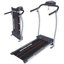 Portable Electric Motorized Treadmill Running Fitness Equipment W/Twist Plate