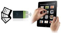 AirStash with WebDAV is a wireless 2-way iPad thumbdrive