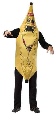 Glitter with Zombie Banana Adult Costume. Huge Variety of Zombie Costumes for Halloween at CostumePub. Zombie Pirate Costume, Spooky Halloween Costumes, Zombie Party, Zombie Costumes, Buy Costumes, Costume Shop, Adult Costumes, Costumes For Women, Morris Costumes