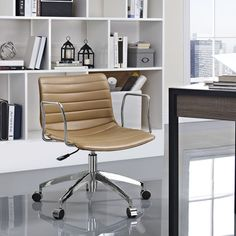 Modway Celerity Office Chair in Tan