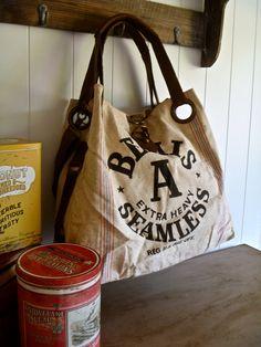 Bemis sans soudure A graine Vintage sac fourre-tout