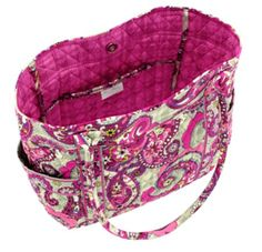 Campus Tote | Vera Bradley...in Paisley Meets Plaid please!