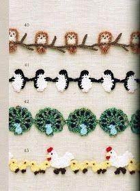 SOLO PUNTOS: Bordes Crochet