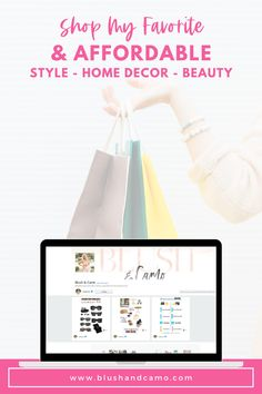 Come check out my favorite affordable style, home decor, and beauty products! You're sure to love them! Happy Shopping! #happyshopping #affordablestyle #affordablehomedecor #affordablebeauty