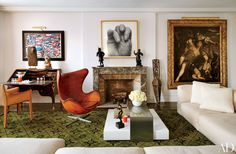 Our Favorite Art-Centric Rooms—Including Works by Picasso and Warhol Photos | Architectural Digest