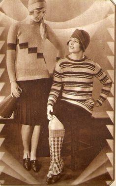 1920s knitwear looks