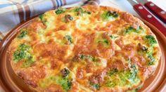 Аппетитная и полезная запеканка из брокколи с сыром и яйцами