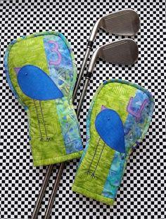(9) Name: 'Sewing : Golf Club Head Cover Birdie