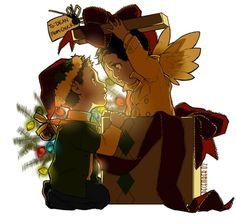 Dean & Castiel