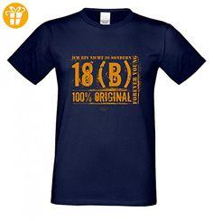 T-Shirt zum Geburtstag - Ich bin nicht 20 - Lustiges Sprücheshirt Motivshirt Geschenk Idee mit Humor - Farbe Navy-Blau, Größe:XXL (*Partner-Link)