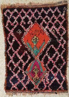 Moyens du Catalogue tapis Boucharouette : T21228
