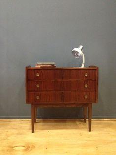 decada muebles vintage cajonera de madera