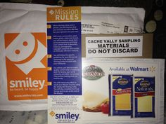 #CacheValleyCheese #Walmart #Smiley360 Finally received my Smiley360 Cache Valley Cheese Mission Kit. So excited to try this cheese for free. Only available at Walmart.