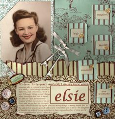I Simply Know You as Elsie...Not every family relationship is perfect...be brave enough to journal about the hard things too.