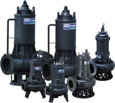 We supply all types of submersible pumps for water and wastewater.
