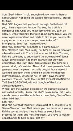And this is why I WILL be teaching my kids about Santa. Because not everything i… And this is why I WILL be teaching my kids about Santa. Because not everything is about me, or me being praised or thanked. More from my site Raising Respectful Kids Parenting Done Right, Parenting Quotes, Kids And Parenting, Parenting Hacks, Foster Parenting, Parenting Humour, Parenting Issues, Parenting Styles, Single Parenting