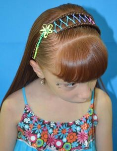peinados para niña - Buscar con Google Ponytail Hairstyles, Pretty Hairstyles, Braided Hairstyles, Ariel Hair, Girl Hair Dos, Toddler Hair, Little Girl Hairstyles, Stylish Hair, Hair Designs