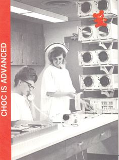 An image from an early CHOC brochure.