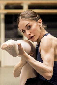 Marianela Nuñez and her biceps