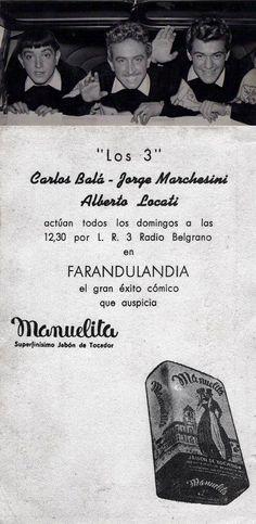 Publicidad de RADIO BELGRANO, Buenos Aires, 1959.