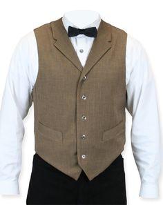 Carlson Vest - Brown (Gentlemen's Emporium)