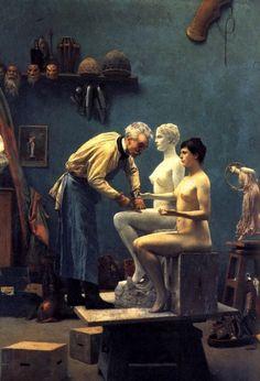 The Artist's Model by Jean-Léon Gérôme