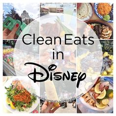 Clean Eats and Healthy Food in Disneyland by Clean Eats & Treats