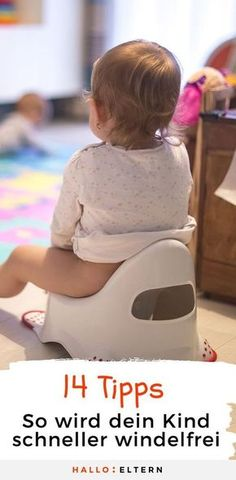 Potty training: 14 tips and your child doesn& need a winch .-Töpfchentraining: 14 Tipps und dein Kind braucht keine Windel mehr Potty training: Your tips that it will work faster. Parenting Advice, Kids And Parenting, Baby Co, Diy Baby, Baby Care Tips, Baby Kind, Potty Training, Baby Hacks, Couches