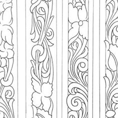 Belt Tooling Patterns Archives - Don Gonzales Saddlery Leather Carving, Leather Art, Leather Tooling, Leather Engraving, Tooled Leather, Woodworking Ornaments, Woodworking Patterns, Custom Leather Belts, Leather Working Patterns