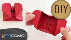 DIY - Caixa de Papel em Forma de Coração