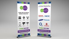 telesis-banner Roller Banners, Business, Store, Business Illustration