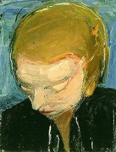 Richard Diebenkorn     this brush work