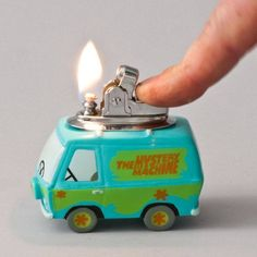 Original Scooby Doo Mystery Machine Table Lighter from LuminousWhatnots on Etsy. Saved to Epic Wishlist. Jeff Koons, Glass Pipes And Bongs, Cool Lighters, Custom Lighters, Scooby Doo Mystery, Puff And Pass, Stoner Girl, Light Table, Tequila