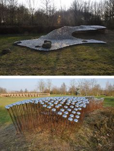 Ronald van der Meijs - 5000 Bicycle Bells Installation Sings With the Wind in the Netherlands - Sound Art Text