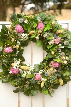 Large Pink Peony Spring wreath | Celebrate the Spring Season! Explore this collection of beautiful Spring Wreaths on Etsy and decorate your front door.
