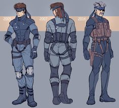 Practicing my baby, my boy, my man, my hero. Snake Metal Gear, Metal Gear Games, Character Concept, Character Design, Concept Art, Cry Anime, Anime Art, Metal Gear Solid Series, Metal Gear Rising