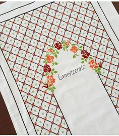 Cross Stitch Cards, Cross Stitch Borders, Cross Stitch Rose, Cross Stitch Designs, Cross Stitch Patterns, Palestinian Embroidery, Embroidery Stitches Tutorial, Prayer Rug, Bargello