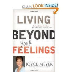 Living Beyond Your Feelings  Starting this book in the new book club we've started at church.
