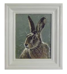 Brown Hare, oils