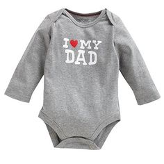 """Jumping Beans® """"I Love My Dad"""" Bodysuit - Baby"""