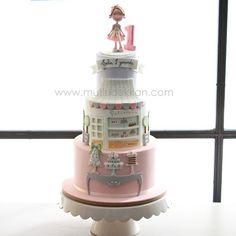 My bakery cake  #mutludukkan #sekerhamuru #butikpasta #sugarart