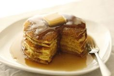 Confessions of a Bake-aholic: Cornmeal Pancakes