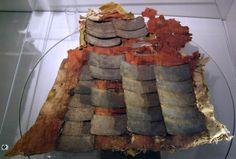 Armor plates from a brigandine, 15th century, Castel Tirolo/Schloss Tirol, Italy.