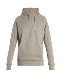 Click here to buy Martine Rose Logo-print oversized cotton sweatshirt at MATCHESFASHION.COM