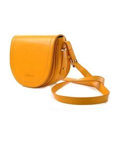 Yellow semicircle bag