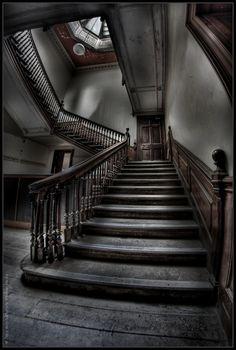 "UE Abandoned Manor House ""G"" by rustysphotography, via Flickr"