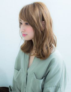 大人かわいい耳かけカール(KJ-96) | ヘアカタログ・髪型・ヘアスタイル|AFLOAT(アフロート)表参道・銀座・名古屋の美容室・美容院