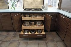 Fieldstone, where Form meets Function contemporary-kitchen Kitchen Redo, Kitchen Pantry, Kitchen And Bath, New Kitchen, Kitchen Remodel, Kitchen Cabinets, Kitchen Ideas, Gloss Kitchen, Kitchen Drawers